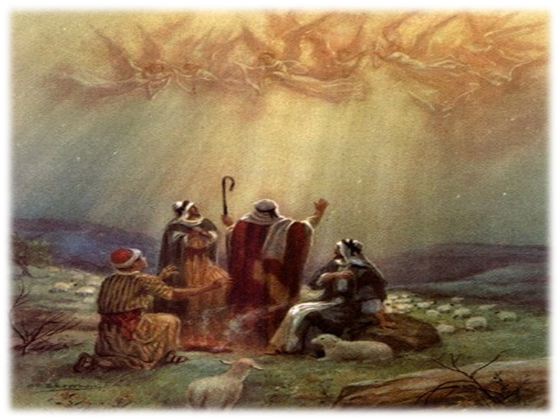 angels sing to shepherds - photo #12